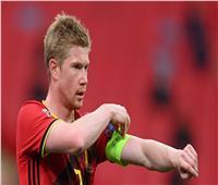 تحديد موعد عودة دي بروين لتدريبات بلجيكا