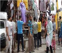 حملة إشغالات ليلية مكبرة بمدينة «منوف»