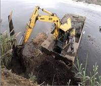 إزالة 501 حالة تعد على نهر النيل في «بني سويف»
