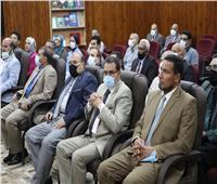 رئيس جامعة الأزهر يفتتح قاعة مؤتمرات مجهزة بكلية اللغات والترجمة
