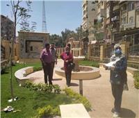 رئيس مدينة منوف يتابع أعمال إنشاء حديقة تحيا مصر.. صور