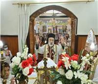 الأنبا باسيليوس يزور كنيسة أم المعونة الدائمة بسمالوط