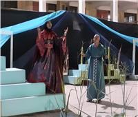 لليوم الرابع.. «عروسة القمح» على مسرح الإعدادية بنين بسمالوط | صور