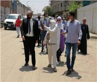 نائب محافظ القاهرة ووفد الوكالة الألمانية يتفقدان المشروعات التنموية بالبساتين
