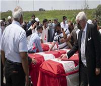 تشييع جثامين عائلة مسلمة قًتلت خلال عملية دهس «متعمدة» في كندا