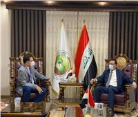 وزير الزراعة العراقي يبحث مع السفير المصري التعاون في المجالات الزراعية