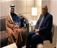 مباحثات رسمية مصرية - قطرية على مستوى وزيري الخارجية بالدوحة