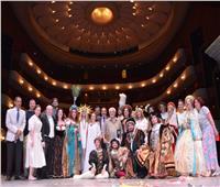 فى ليلة مصرية رائعة ختام مبهر وتكريم شعبى للاوبرا الروسية