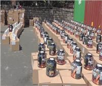 «الداخلية» تحبط ترويج 1.8 مليون عبوة مكملات غذائية مجهولة المصدر