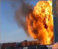 انفجار هائل في محطة وقود بمدينة نوفوسيبيرسك الروسية.. فيديو