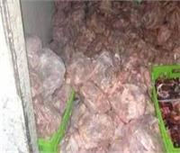 ضبط طن «دواجن ولحوم فاسدة» داخل مخزن «مطعم شهير» بالجيزة