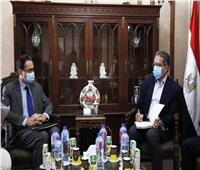 وزير السياحة يبحث سبل التعاون المشترك مع سفير فرنسا بالقاهرة