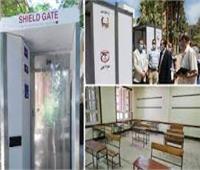 تجهيز ١١ مقر لتطعيم معلمي أسيوط المشاركين بإمتحانات الثانوية العامة