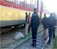 مصرع شابسقط من قطار الركاب بخط «دسوق دمنهور»