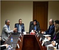 أشرف صبحي يجتمع بصندوق دعم الرياضة المصرية