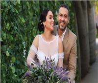 فيديو   أول تعليق من محمد فراج بعد زفافه على بسنت شوقي