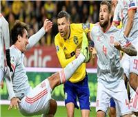 بث مباشر | مباراة إسبانيا والسويد «يورو 2020»