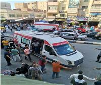 شباب «الدلنجات» ينظمون حملة للتبرع بالدم لإنقاذ مصاب بالسرطان.. صور