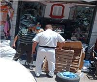 إزالة 225 مخالفة إشغال طريق خلال حملة مكبرة بـ«كفر الدوار»