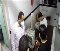 «وكيل صحة البحيرة» يقوم بزيارة مفاجئة لمستشفى حميات دمنهور
