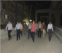 محافظ الجيزة يتفقد مسارات العمل بالمحور الموازي لـ«شارع الهرم» | صور