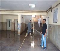 حملة تعقيم وتطهير في منشأة القناطر بالجيزة | صور