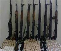 مخدرات وسلاح بحوزة 80 شخصا بالجيزة