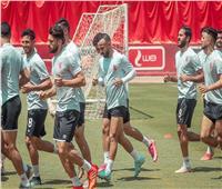 مران الأهلي| أفشة يشارك في تدريبات الفريق قبل السفر لتونس