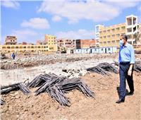 محافظ الغربية يتابع أعمال الرصف بالمحلة الكبرى وسمنود