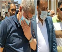 تشييع جثمان شقيق أحمد شوبير في طنطا |صور