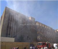 حريق هائل بمستشفى سوهاج العام.. والحماية المدنية تتدخل | صور