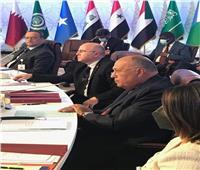 نص كلمة سامح شكري أمام اجتماع وزراء الخارجية العرب لبحث قضية سد النهضة
