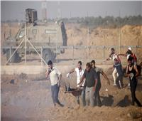 مواجهات بين فلسطينيين وقوات الاحتلال جنوب غزة.. واندلاع حرائق في غلاف القطاع