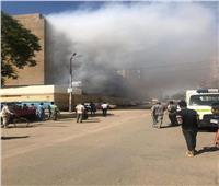 إخماد حريق مستشفى سوهاج.. ولا خسائر بشرية