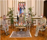 الفريق أول محمد زكي يلتقي قائد القيادة المركزية الأمريكية