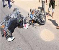 مصرع 3 أشخاص فيتصادم بين دراجتين ناريتين بالدقهلية