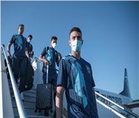 بعثة الأهلي تصل إلى تونس