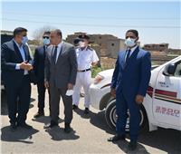 محافظ سوهاج يتفقد أعمال الرصف بمشروع تطوير طريق «العوامر ـ بيت داوود» بجرجا