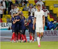 شوط أول ممتع بين ألمانيا وفرنسا.. اقتحام بمظلة وهدف نيران صديقة| فيديو