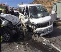 إصابة زوجين في حادث تصادم بالوراق
