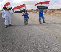 أهالي قرية الظهير جنوب الشيخ زويد يعبرون عن فرحتهم بالعودة إلي ديارهم