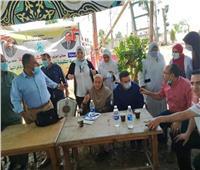 قافلة سكانية شاملة لتقديم الخدمات لأهالي قرية العلامية بالدلنجات