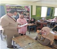 2677 طالب وطلبة في سيناء يؤدون امتحانات الثانوية العامة هذا العام