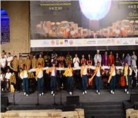 ختام المهرجان الدولي للطبول والفنون التراثية بالقلعة الجمعة