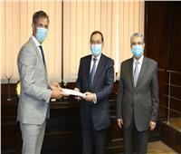 وزيرا الكهرباء والبترول يشهدان تدشين تحالف الشركات البلجيكية