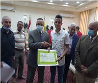 محافظ شمال سيناء يكرم ذوي الإعاقة الفائزين في كأس مصر