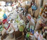 ضبط 9 أطنان سلع غذائية مجهولة المصدر بالقاهرة