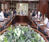 محافظ بني سويف يستقبل رئيس الجهاز التنفيذي للمشروعات الصناعية