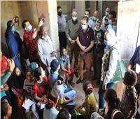 وفد هيئة تنشيط السياحة يتفقد المواقع الآثرية بمحافظة الفيوم