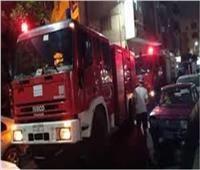 السيطرة على حريق بشقة سكنية في المهندسيندون إصابات
